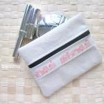 Multipurpose zipped purse w..